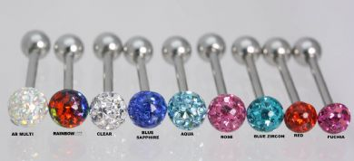 Glitzy Ball Barbell